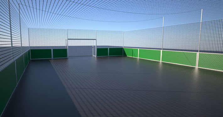 Individuelle Soccer Courts